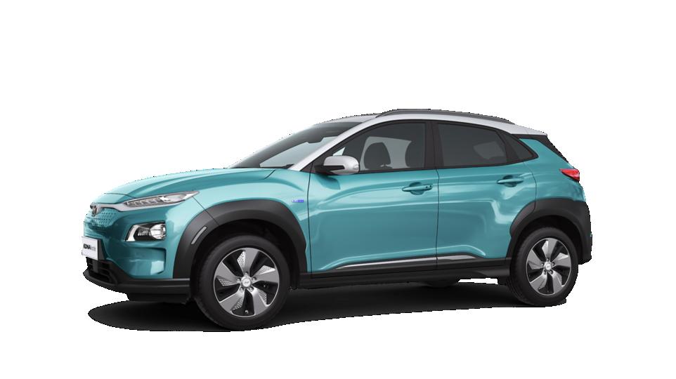 Het prachtige ontwerp van de Hyundai KONA Electric.