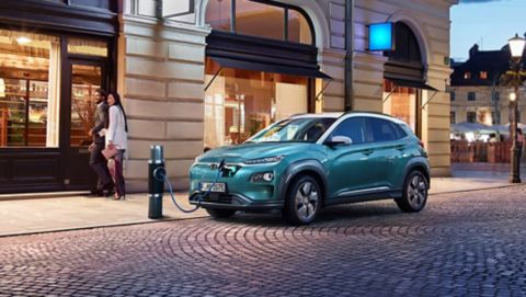 Vraag een proefrit aan voor de Hyundai KONA Electric.