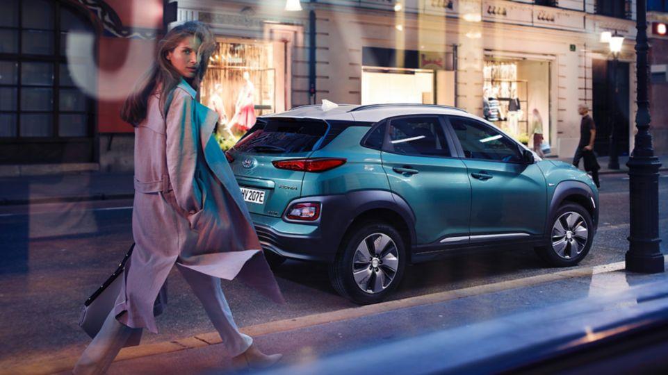 De nieuwe Hyundai KONA Electric.
