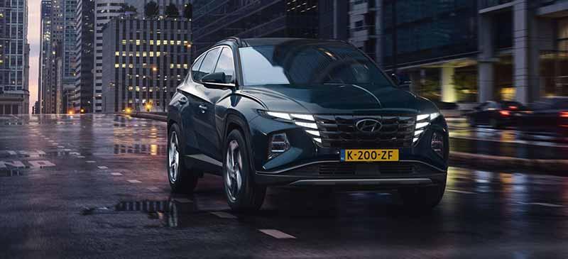Hyundai Tucson heeft een revolutionair design.